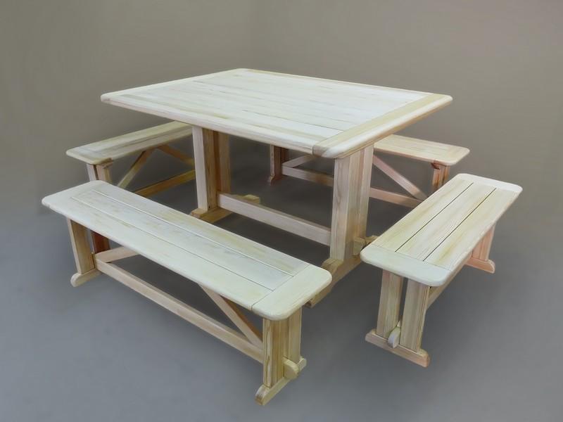 Кровать деревянная своими руками на даче